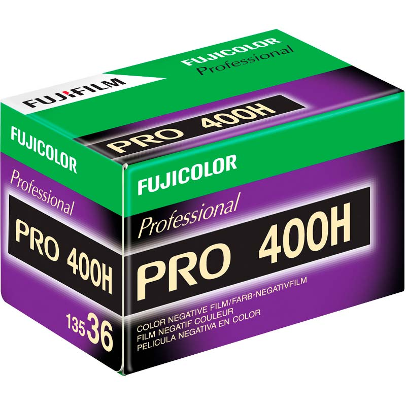 Fujicolor Pro 400H Color Print 35mm Film – 36 Exposures