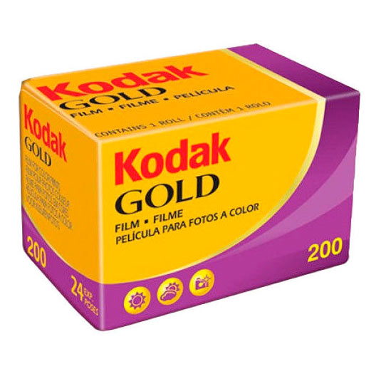 Kodak Gold 200 Color Print 35mm Film – 36 Exposures