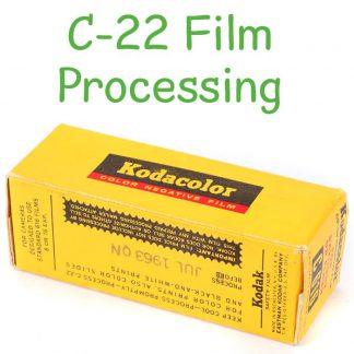 C-22 film processing
