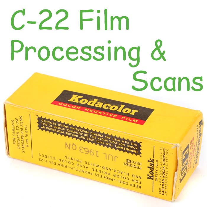 C-22 Film Processing & Scans