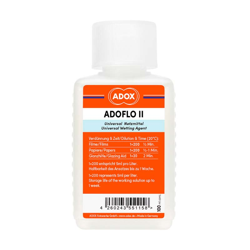 Adox ADOFLO II Wetting Agent – 100ml Concentrate