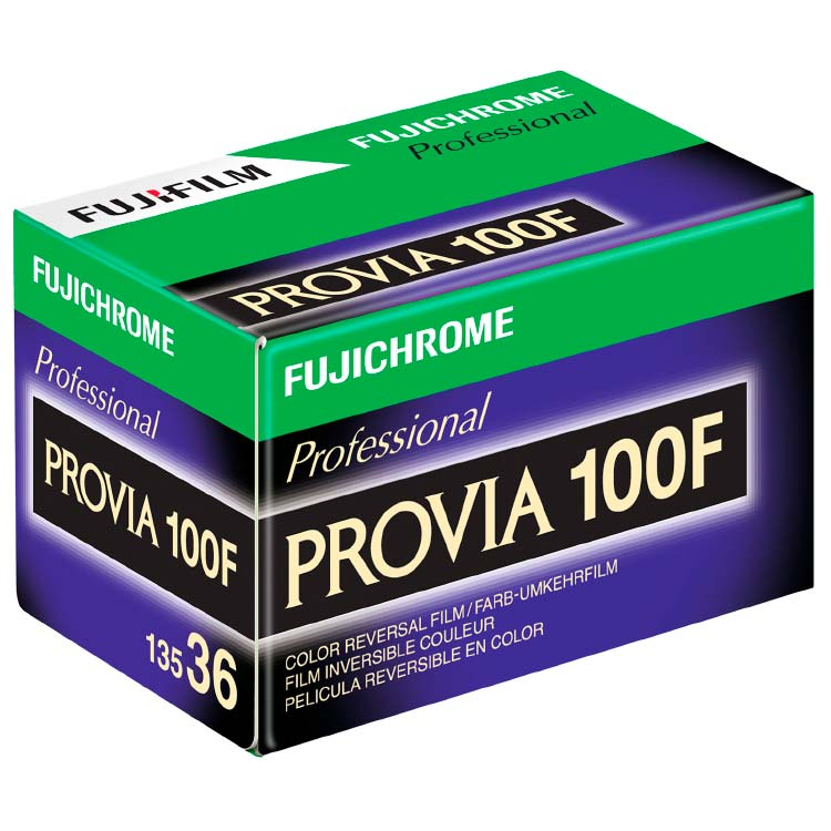 FujiChrome Professional Provia 100F Color Reversal/Slide 35mm Film – 36 Exposures