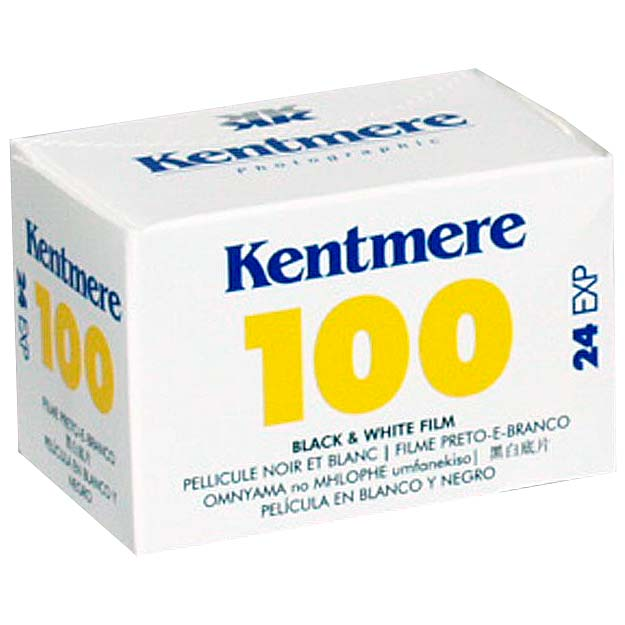 Kentmere 100 Black & White 35mm Film – 24 Exposures