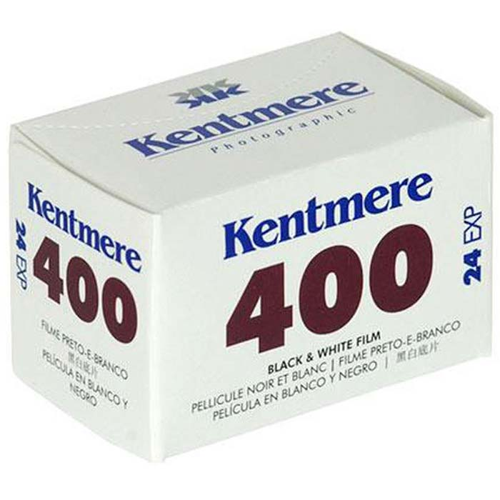 Kentmere 400 Black & White 35mm Film – 24 Exposures
