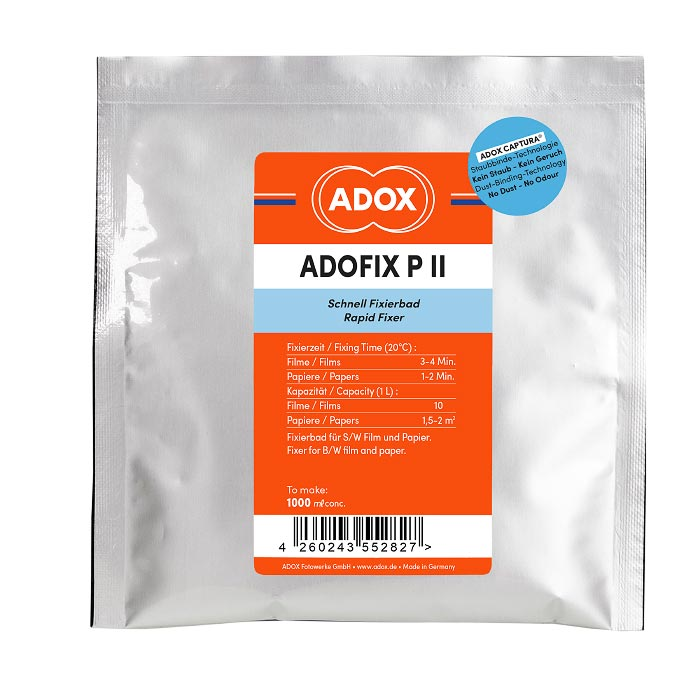 Adox ADOFIX P II Fixer – Powder to make 1 Liter