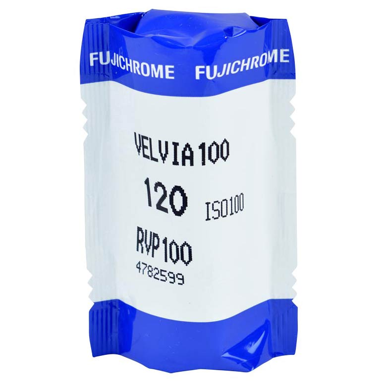 FujiChrome Professional Velvia 100 Color Reversal/Slide 120 Roll Film