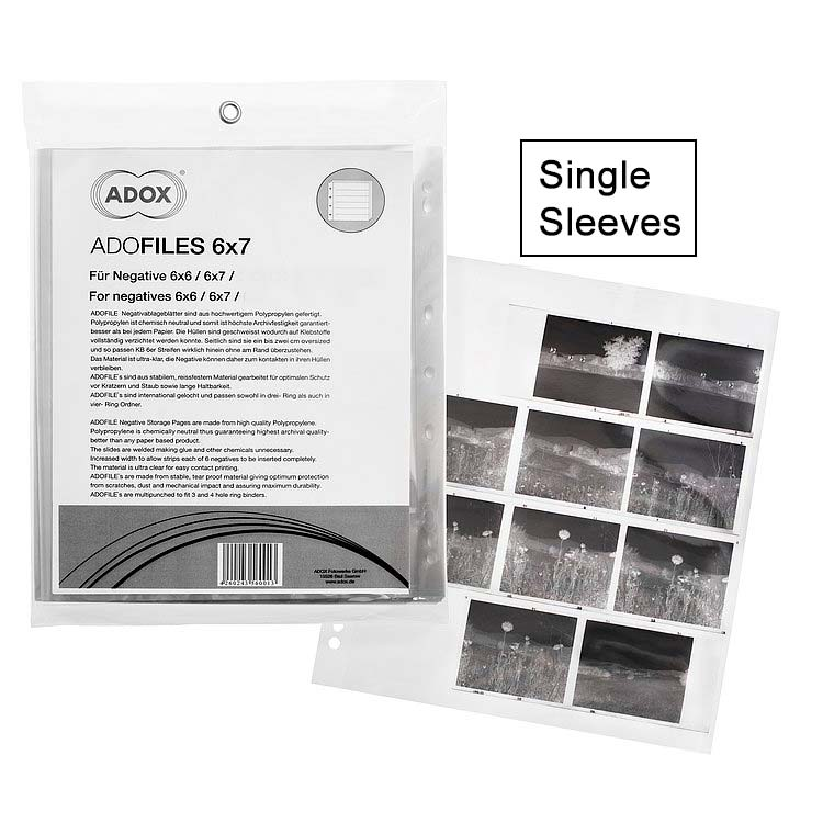 ADOX Adofile Polypropylene Negative Oversized Sleeve For 120 Film – Single Sleeve