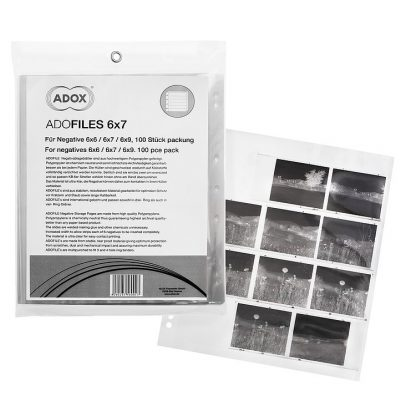 ADOX Adofile Polypropylene Negative Oversized Sleeves For 120 Film