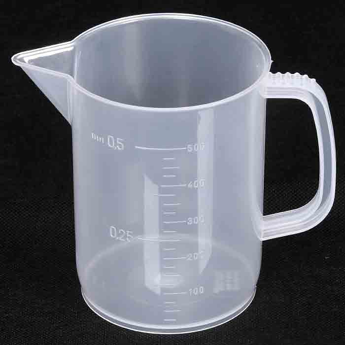500ml Vos/Kartell PP Graduated Measuring/Mixing Beaker – Laboratory Quality