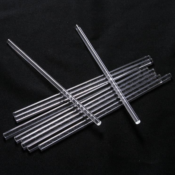 VOS Borosilicate Glass Stirring Rod – 6mm x 200mm
