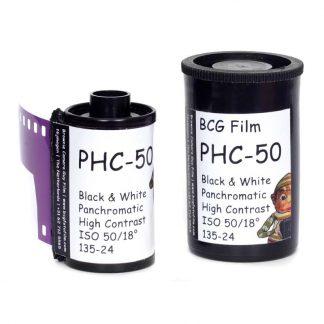 BCG PHC-50 High Contrast 35mm 24 exposure film - 1