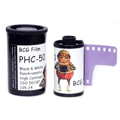 BCG PHC-50 High Contrast 35mm 24 exposure film - 2