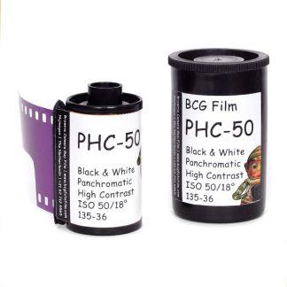 BCG PHC-50 High Contrast 35mm 36 exposure film - 1