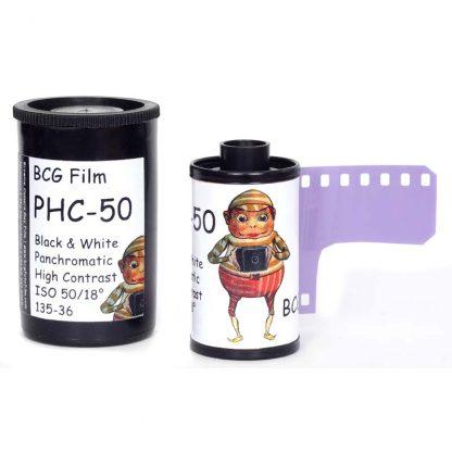 BCG PHC-50 High Contrast 35mm 36 exposure film - 2