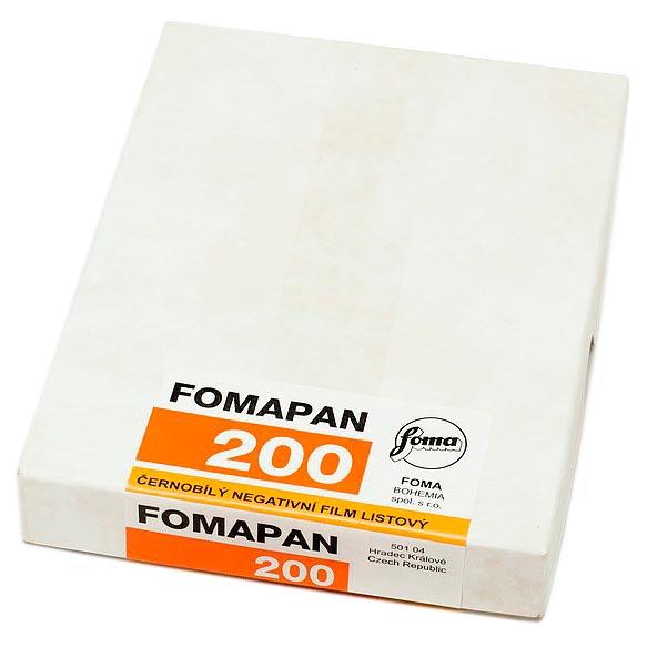 4x5 Foma Fomapan 100 ISO Black /& White Negative Film 50 Sheets