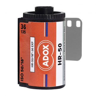 Adox HR-50 with Speed Boost B&W 35mm Film - 1