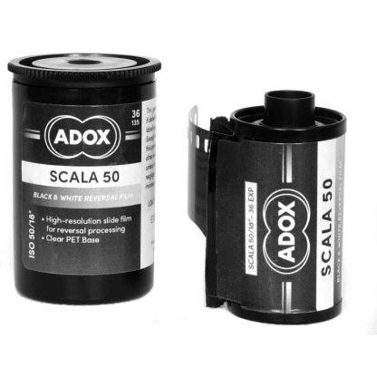 Adox Scala 50 B&W Slide film