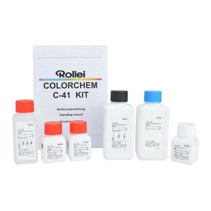 rollei colorchem c-41 kit open
