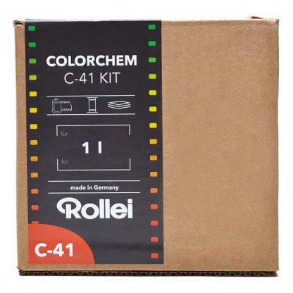 rollei colorchem c-41 kit