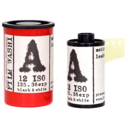 """Film Washi """"A"""" 35mm - Leader Film - 12 iso - 36 exp - PET 120μm Base"""