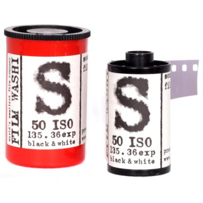 "Film Washi ""S"" 35mm - Sound Recording Film - 50 iso - 36 exp - PET 125μm Base"