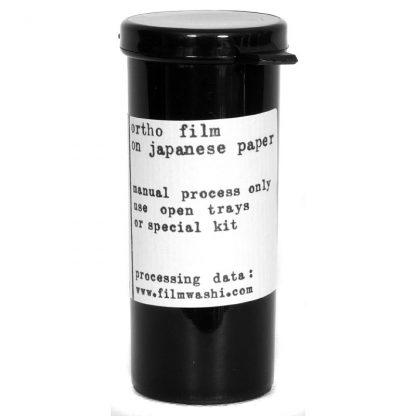"Film Washi ""W"" 120 - Orthochromatic - 25 iso - Kozo Paper 2"