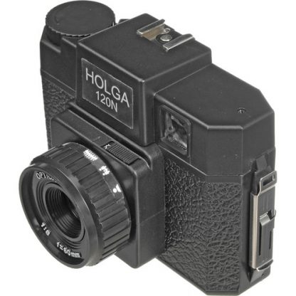 Holga 120N Camera - Black - 2