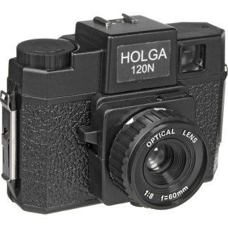 Holga 120N Camera - Black - 1
