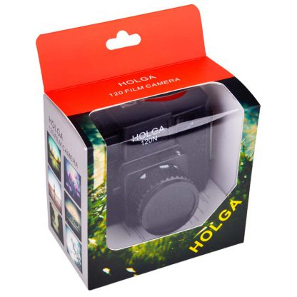 Holga 120N Camera - Black - boxed