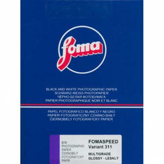 Fomaspeed Variant 311 Variable Contrast RC Paper - Glossy Finish - 12,7x17,8cm - 100 Sheets