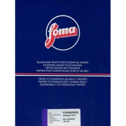 Fomaspeed Variant 313 Variable Contrast RC Paper - Velvet Finish - 17,8x24cm - 25 Sheets
