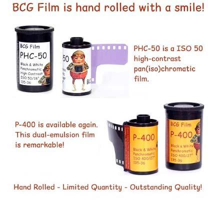 BCG Handrolled Film