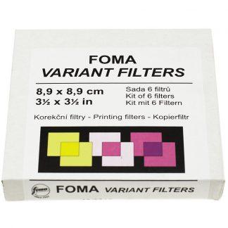 Foma Variant Printing Filter Kit - 8,9 x 8,9 cm