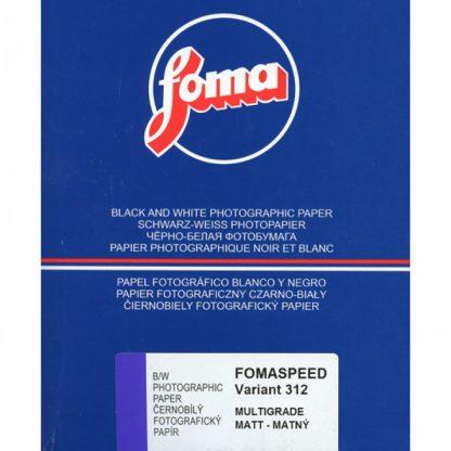 Fomaspeed Variant 312 Variable Contrast RC Paper - matt Finish - 12,7x17,8cm - 100 Sheets