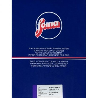 Fomaspeed Variant 312 Variable Contrast RC Paper - velvet Finish - 12,7x17,8cm - 25 Sheets