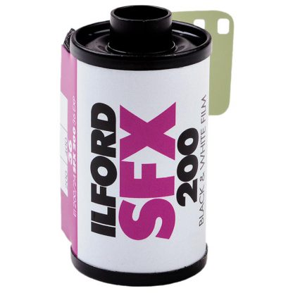 Ilford SFX 200 35mm Near Infrared Film