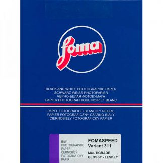 Fomaspeed Variant 311 Variable Contrast RC Paper - Glossy Finish - 17,8x24cm - 50 Sheets