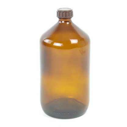 IphaS Amber Glass Chemical Bottle - 1000ml