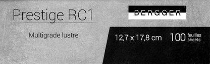 Bergger Prestice RC 1 12,7x17,8 lustre enlarging paper