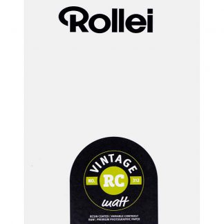 Rollei Vintage 312 Variable Contrast RC Paper
