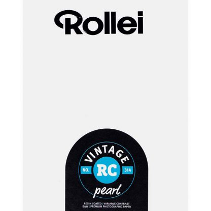 Rollei Vintage 314 Variable Contrast RC Paper - Pearl Finish