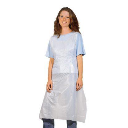 Disposable darkroom apron