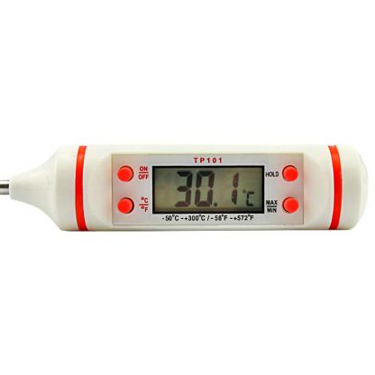 TP101 Digital Thermometer - White 4