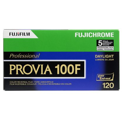 Fujichrome Provia 100F 120 5 Pack