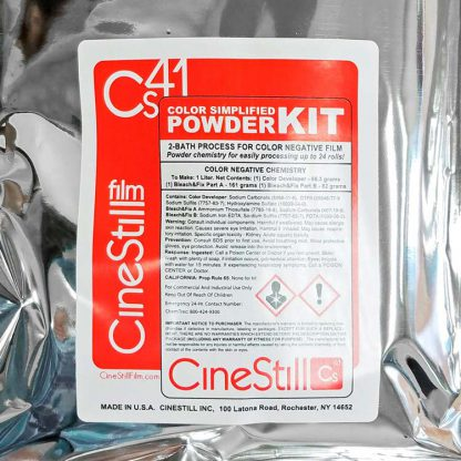 Cinestill Cs41 Color Negative Simplified Powder Kit for 1 Liter