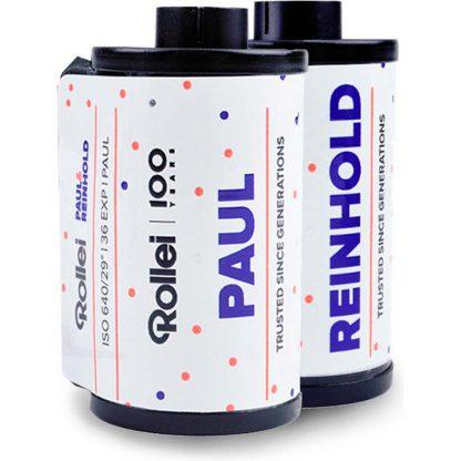 Rollei Paul & Reinhold 640 ISO Black & White 35mm Film - 36 Exposures - 2 Pack - 2