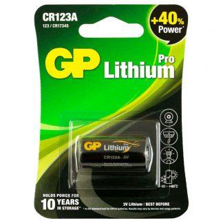 GP CR123A Pro Lithium 3V Battery