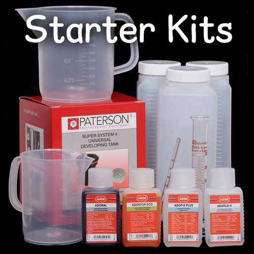 Film Processing Starter Kits